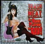 "LP - THE CRAMPS ★TRASH IS NEAT #6# ★ ""All Bass Players Are Bad""★ Pink Vinyl"